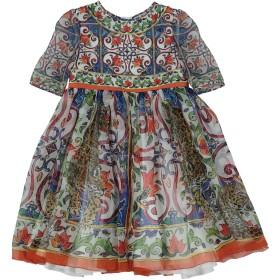 《セール開催中》DOLCE & GABBANA ガールズ 3-8 歳 ワンピース&ドレス ホワイト 3 シルク 100%