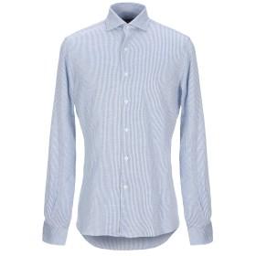 《セール開催中》ORIAN メンズ シャツ ブルー 39 コットン 100%