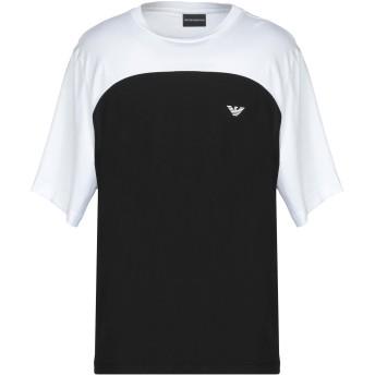 《期間限定セール開催中!》EMPORIO ARMANI メンズ T シャツ ブラック XL コットン 100%