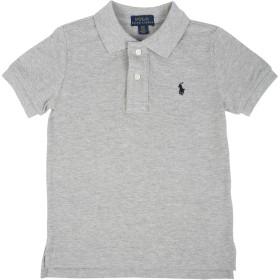 《期間限定 セール開催中》RALPH LAUREN ボーイズ 3-8 歳 ポロシャツ ライトグレー 6 コットン 100%