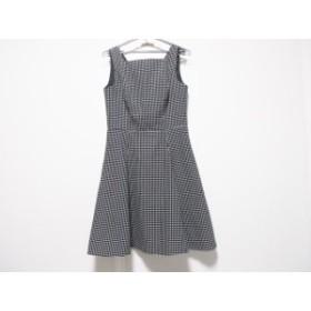ラルフローレン RalphLauren ドレス サイズ8 M レディース 黒×白 ドット柄【中古】20190820