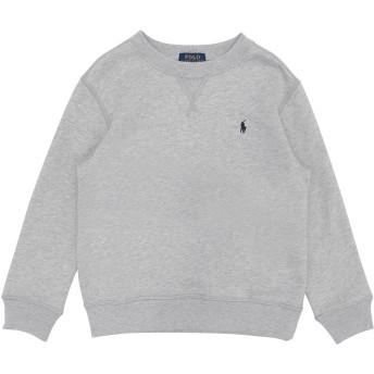 《9/20まで! 限定セール開催中》RALPH LAUREN ボーイズ 3-8 歳 スウェットシャツ グレー 5 コットン 84% / ポリエステル 16% Cotton-Blend-Fleece Sweatshirt
