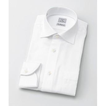 【SALE(三越)】<CHOYAシャツメーカー/CHOYA SHIRT MAKER> 長袖白ドビーシャツ(CID800-201) 201シロ 【三越・伊勢丹/公式】