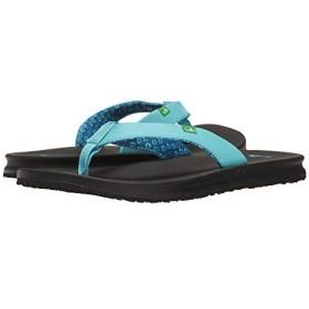[サヌーク] レディースサンダル・靴 Yoga Mat Wander Aqua US 6 (23cm) B - Medium [並行輸入品]