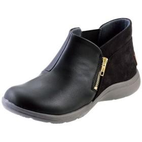 ショートブーツ(テクシー) - セシール ■カラー:ブラック ■サイズ:22.5cm,23cm,23.5cm,24cm,24.5cm