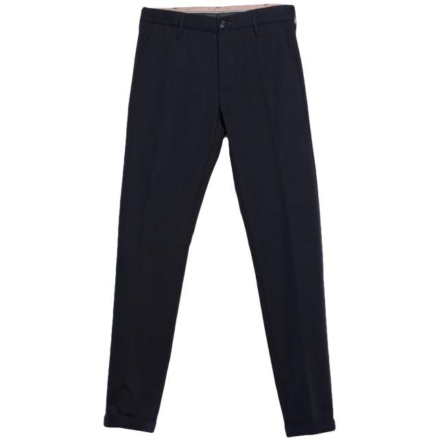 《期間限定セール開催中!》PENCE メンズ パンツ ダークブルー 46 コットン 54% / バージンウール 23% / アクリル 23%