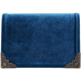 《セール開催中》TIPE E TACCHI レディース ハンドバッグ ブルー 紡績繊維