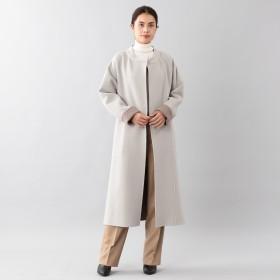 SANYO(サンヨー)/<DoubleFaced Coat>ウールリバーラップコート