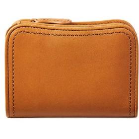 カバンのセレクション 青木鞄 ラ ガリレア 財布 二つ折り財布 本革 メンズ la GALLERIA lega 2042 ユニセックス キャメル フリー 【Bag & Luggage SELECTION】