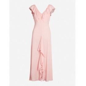 リキソ RIXO レディース ワンピース ワンピース・ドレス Antoinette ruffled-trim floral-print crepe maxi dress R micro floral c/cr