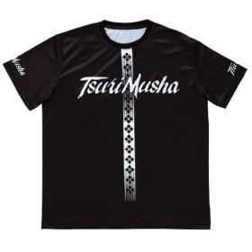 フィッシングウェア 釣武者 クールフィット Tシャツ XXL ブラック
