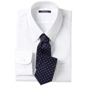 【メンズ】 形態安定ビジネスシャツ(長袖) - セシール ■カラー:ボタンダウン ■サイズ:L,LL,M