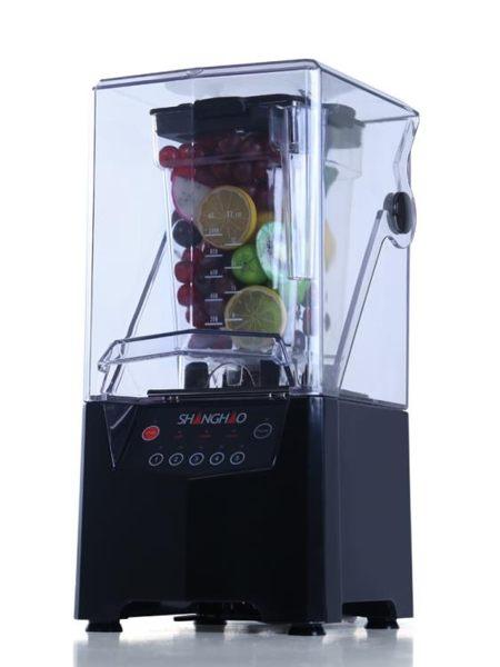 沙冰機商用隔音料理攪拌機奶茶店帶罩冰沙碎冰機榨汁機HA-992 220V 亞斯藍