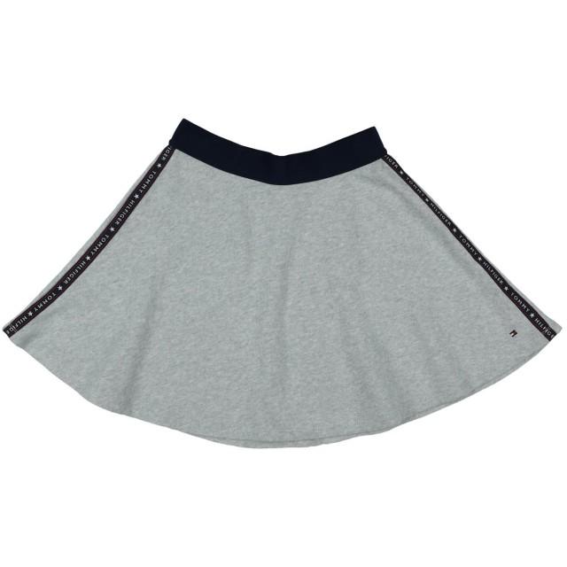 《期間限定 セール開催中》TOMMY HILFIGER ガールズ 3-8 歳 スカート ライトグレー 3 コットン 100% / ナイロン / ポリエステル
