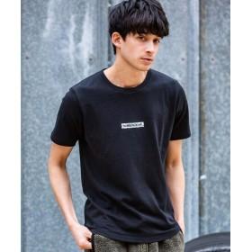 SHIFFON NUMBER (N)INE DENIM(ナンバーナインデニム) スパイダーボックスロゴTシャツ メンズ ブラック L 【SHIFFON】