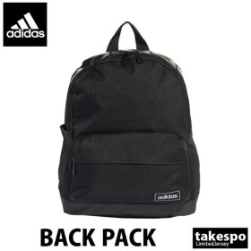 アディダス バックパック リュックサック デイパック adidas ビッグロゴ 黒 ブラック ミニバッグ ミニリュック 新作