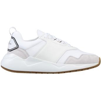 《セール開催中》BUSCEMI レディース スニーカー&テニスシューズ(ローカット) ホワイト 36 紡績繊維 / 革