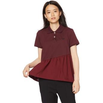 [フレッドペリー] ポロシャツ Pique Shirt F5354 レディース 17_MAROON UK 10 (日本サイズM相当)