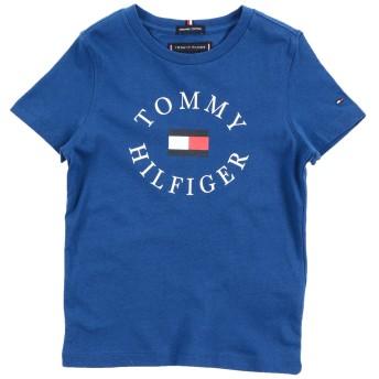 《期間限定 セール開催中》TOMMY HILFIGER ボーイズ 3-8 歳 T シャツ ブルー 8 コットン 100%