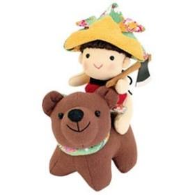 オリムパス 兜(かぶと)をかぶった金太郎 PA-703 [五月人形/節句人形/子供の日/端午の節句キット]