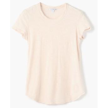 トゥモローランド スラブジャージー クルーネックTシャツ WUA3037 レディース 32ライトピンク 0(S) 【TOMORROWLAND】