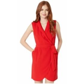 ワンステート 1.STATE レディース ワンピース ワンピース・ドレス Sleeveless Wrap Front Tie Waist Dress Cherry Red