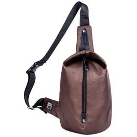 肩掛けバッグ 斜めがけバッグ ボディバッグ ワンショルダーバッグメンズ 旅行カバン 防水 大容量 iPad収納可能