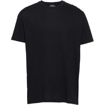 《セール開催中》EMPORIO ARMANI メンズ T シャツ ブラック XXS コットン 100%