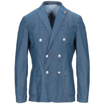 《期間限定セール開催中!》AT.P.CO メンズ テーラードジャケット ブルー 50 コットン 100%