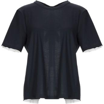 《セール開催中》MARNI レディース T シャツ ブラック 42 コットン 100%