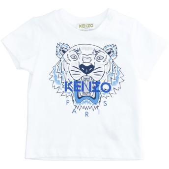 《9/20まで! 限定セール開催中》KENZO ボーイズ 0-24 ヶ月 T シャツ ホワイト 9 コットン 100%