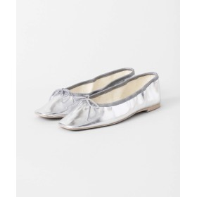 [アーバンリサーチ] 靴 バレエシューズ スクエアトゥバレエシューズ レディース SILVER 23