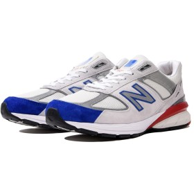 (NB公式)【ログイン購入で最大8%ポイント還元】 メンズ M990 NB5 (ホワイト) スニーカー シューズ(Made in USA/UK) 靴 ニューバランス newbalance