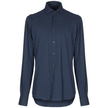 《セール開催中》ORIAN メンズ シャツ ダークブルー 41 コットン 100%