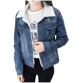 VITryst 婦人用シムフィットプラスベルベットウールシックシングルシングルジャンジャンジャケットコート As Picture S