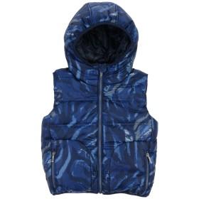 《期間限定セール開催中!》JOHN GALLIANO ボーイズ 3-8 歳 合成繊維中綿アウター ブルー 4 ポリエステル 100%