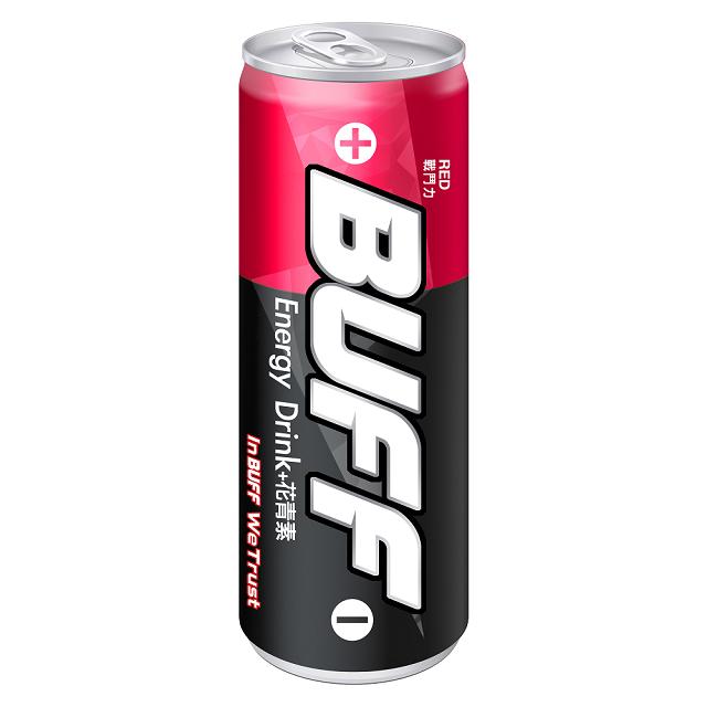 BUFF能量飲料(戰鬥力-紅)