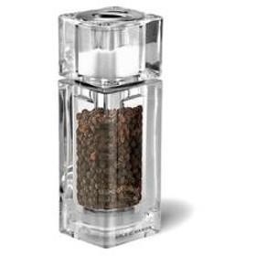 コール&メイソン ソルト&ペッパー キューブコンビ 13.5cm メーカー公式 COLE&MASON Cube Combi Salt & Pepper アクリル 塩 コショウ 胡椒 挽き H33506P 5011268900075 手動 保存容器 調味料入れ 訳あり ワ