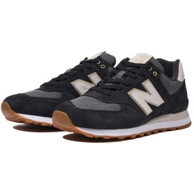 (NB公式)【ログイン購入で最大8%ポイント還元】 ユニセックス ML574 SNL (ブラック) スニーカー シューズ 靴 ニューバランス newbalance