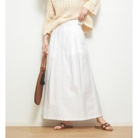 【カトルナフ/36Quatre-Neuf】 モールスキンクロップドスカート