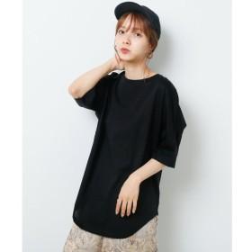 【レイカズン/RAY CASSIN】 シルケット5分袖ロンTEE