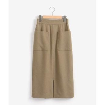 le.coeur blanc / ルクールブラン ポケットツキイージータイトスカート