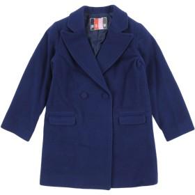 《期間限定 セール開催中》MSGM ガールズ 3-8 歳 コート ダークブルー 4 ウール 80% / ナイロン 20%