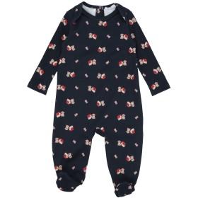 《セール開催中》DOLCE & GABBANA ボーイズ 0-24 ヶ月 乳幼児用ロンパース ダークブルー 6 コットン 100%