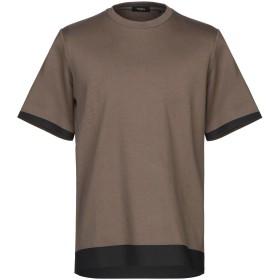 《期間限定セール開催中!》THEORY メンズ T シャツ ミリタリーグリーン S コットン 100%