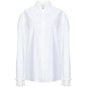 《期間限定セール開催中!》MM6 MAISON MARGIELA レディース シャツ ホワイト 36 コットン 100%