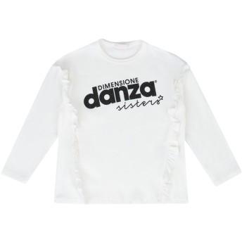《セール開催中》DIMENSIONE DANZA SISTERS ガールズ 3-8 歳 T シャツ アイボリー 3 コットン 90% / ポリウレタン 10% BIELAX T-SHIRT BABY GIRL
