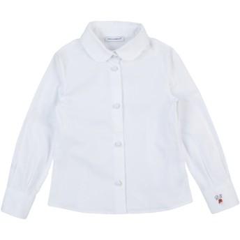 《セール開催中》DOLCE & GABBANA ガールズ 0-24 ヶ月 シャツ ホワイト 24 コットン 97% / ポリウレタン 3%