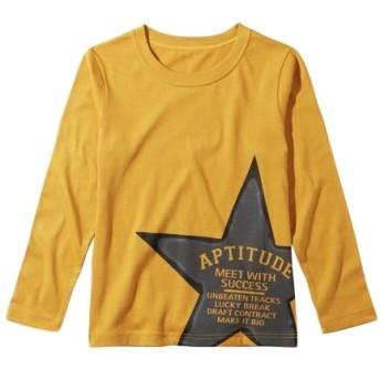 綿100% 10柄から選べるプリント長袖Tシャツ(男の子。女の子 子供服。ジュニア服) Tシャツ・カットソー