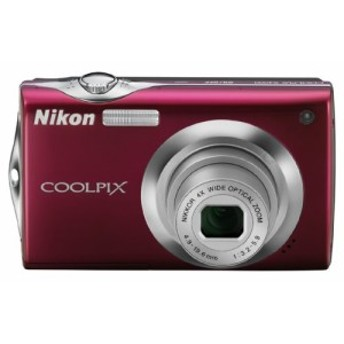 Nikon デジタルカメラ COOLPIX (クールピクス) S4000 ルビーレッド S4000RD(中古品)